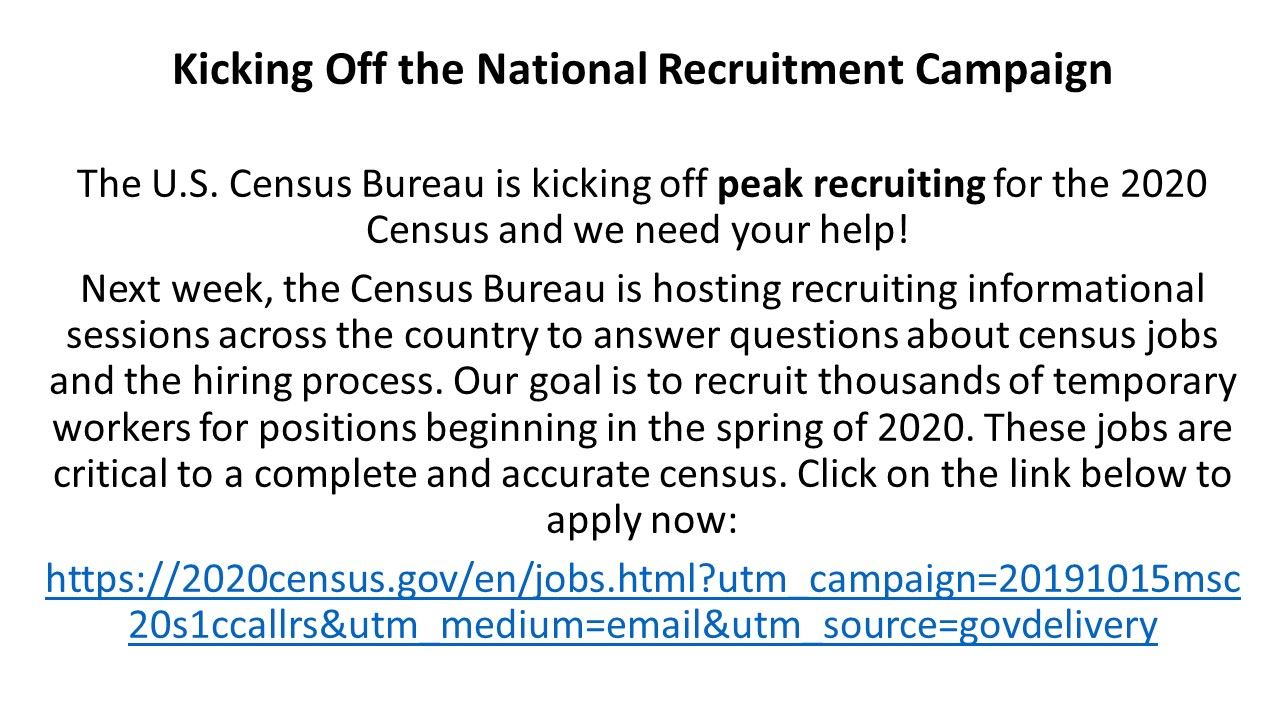2020Census_National Recruitment Campaign