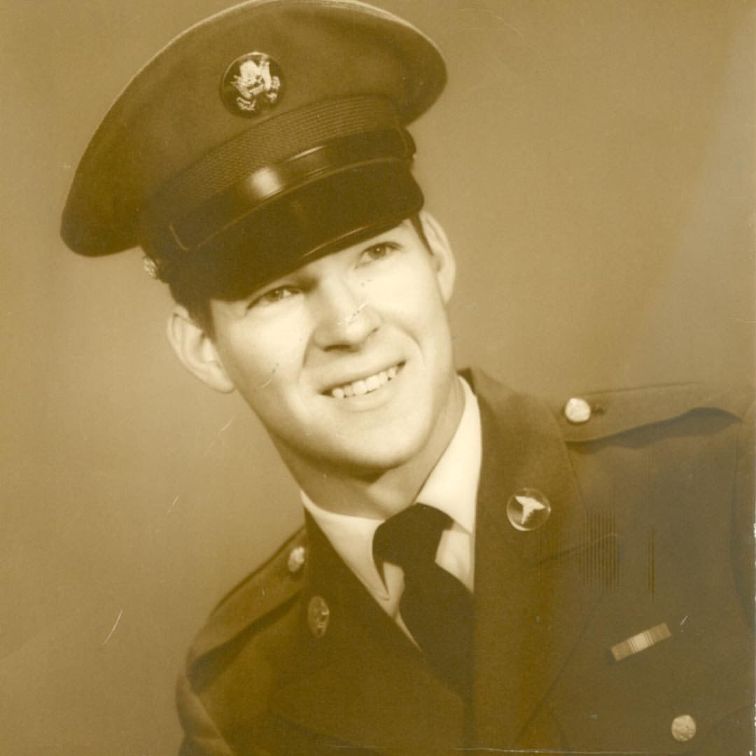 Papa in Army Uniform
