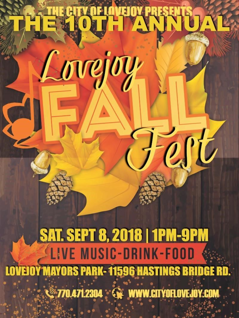Save the Date - FallFest 2018